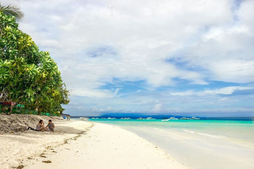 EyeEmNewHere Landscape Tranquil Scene Cloud - Sky Relaxation Beach Nature Beauty In Nature Horizon Over Water Bohol Philippines The Great Outdoors - 2017 EyeEm Awards