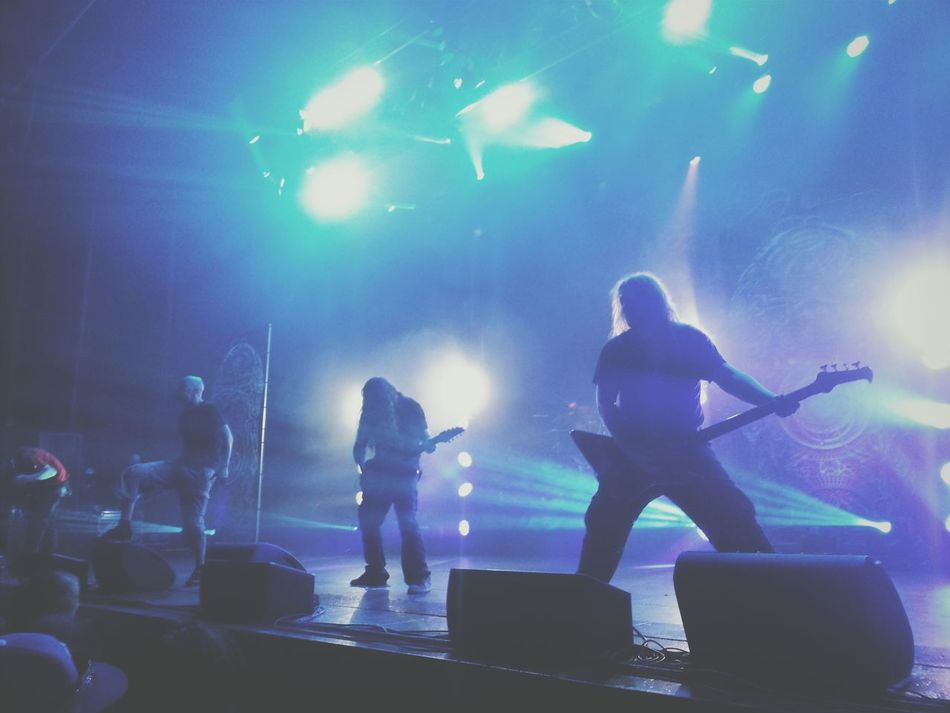 Meshuggah live with Btbam. Concert Photography Metal