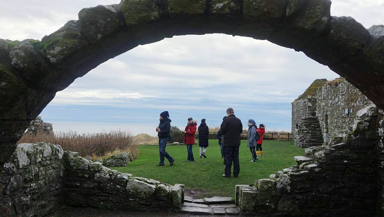 Miles Away Dunnottar Castle Scotland Scouting Eye4photography  Adults Only Mid Adult Healthy Lifestyle People Leisure Activity Adult Men Lifestyles Outdoors Senior Adult Friendship Women Exercising Sport Sky Day Togetherness Nature Sportsman Golf Club EyeEmNewHere