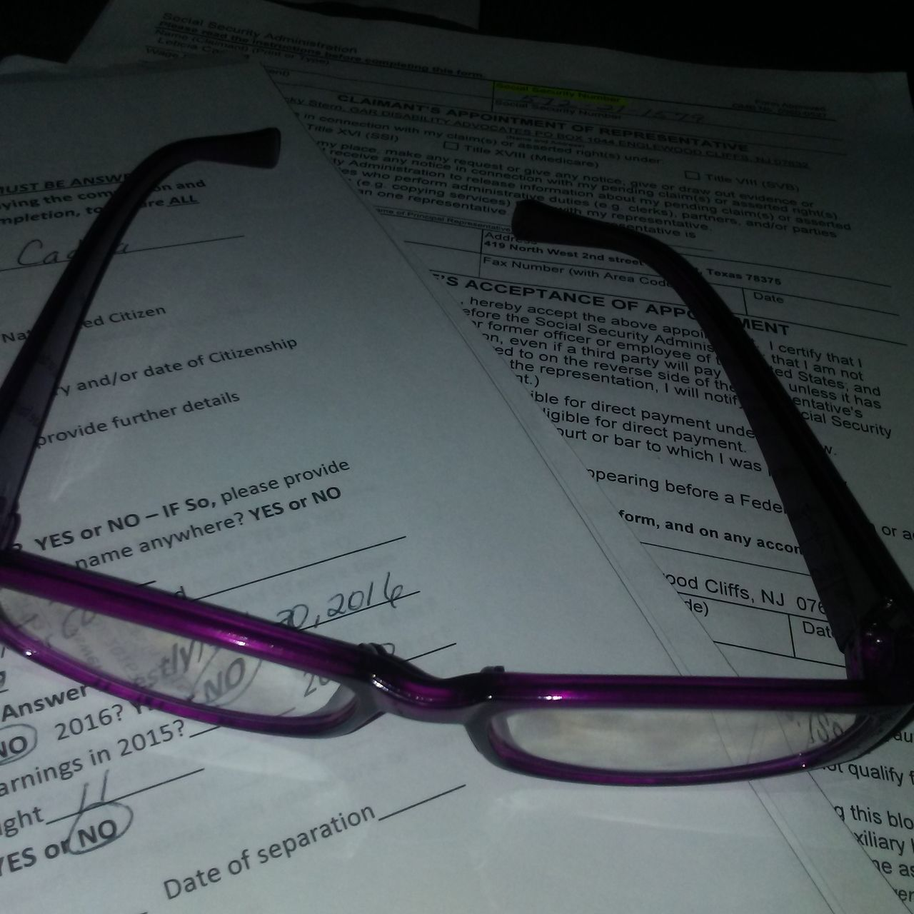 Paperwork No People Indoors  Close-up Reading Glasses Eyeemphotography Papers Night