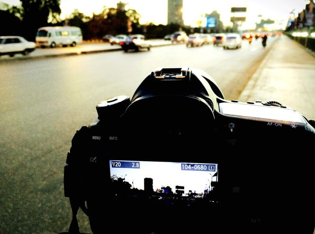Cairo photo session Cairo Cairo Egypt Egypt Outdoors Street Street Photography Road Near East North Africa Camera Shooting Urban Day Close-up City Traffic Africa EyeEmNewHere The Street Photographer - 2017 EyeEm Awards