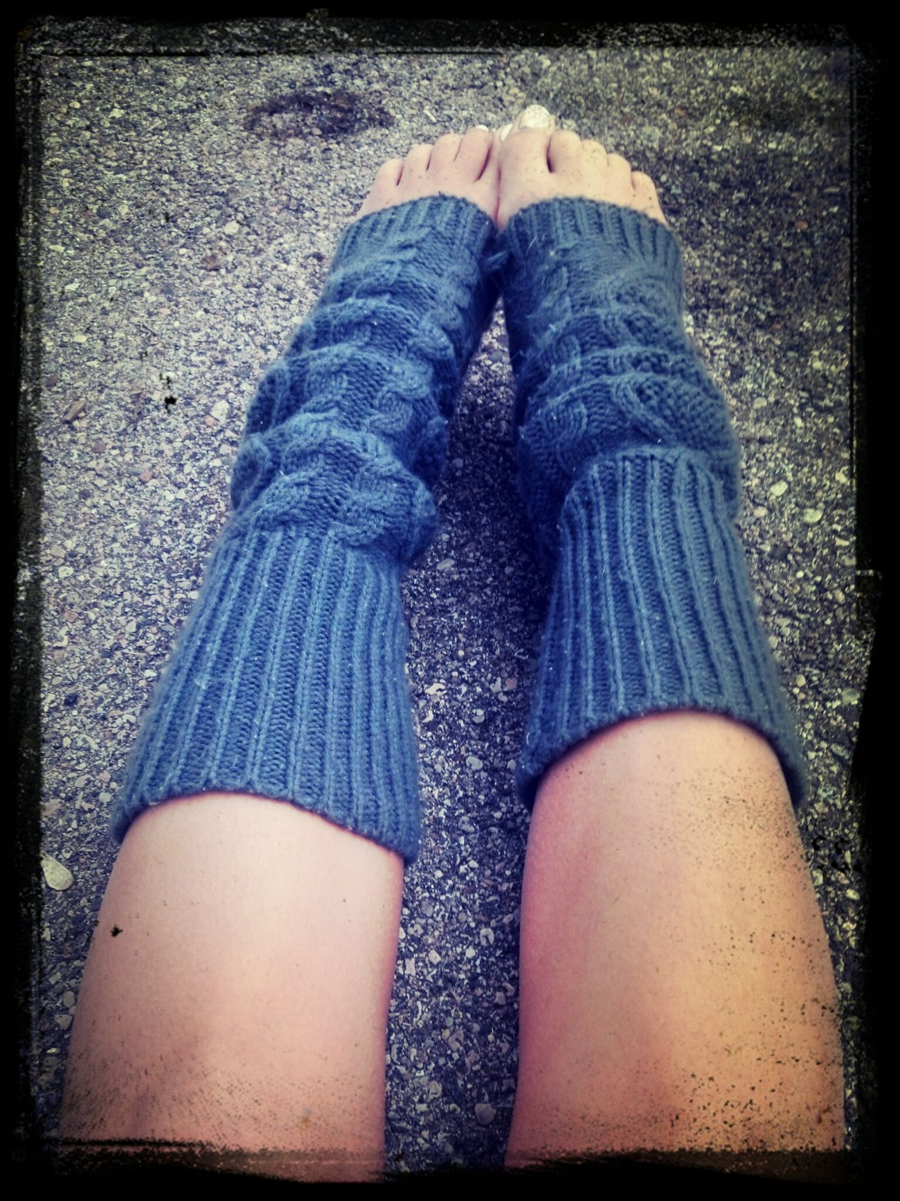 Legg warmers kinda day. Legwarmers