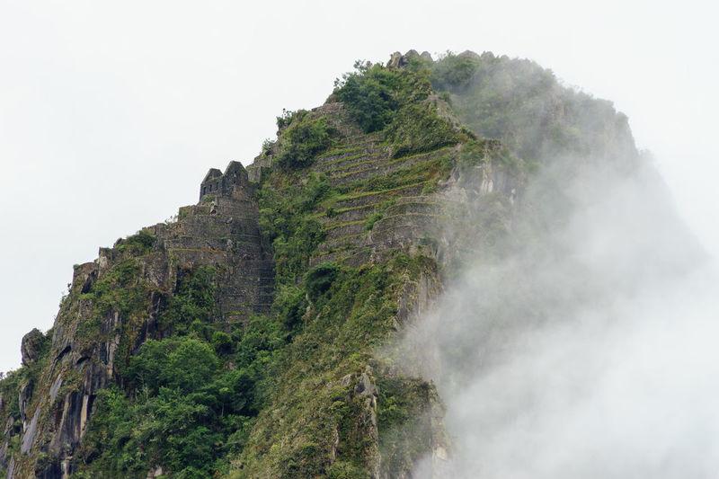 America Ancient Anden Bucket List Cloud Fog Inca International Landmark Landscape Machu Picchu Mist Mountain Old Peru Rain Ruins Season  Sky South Travel Traveling Wall Landscapes With WhiteWall