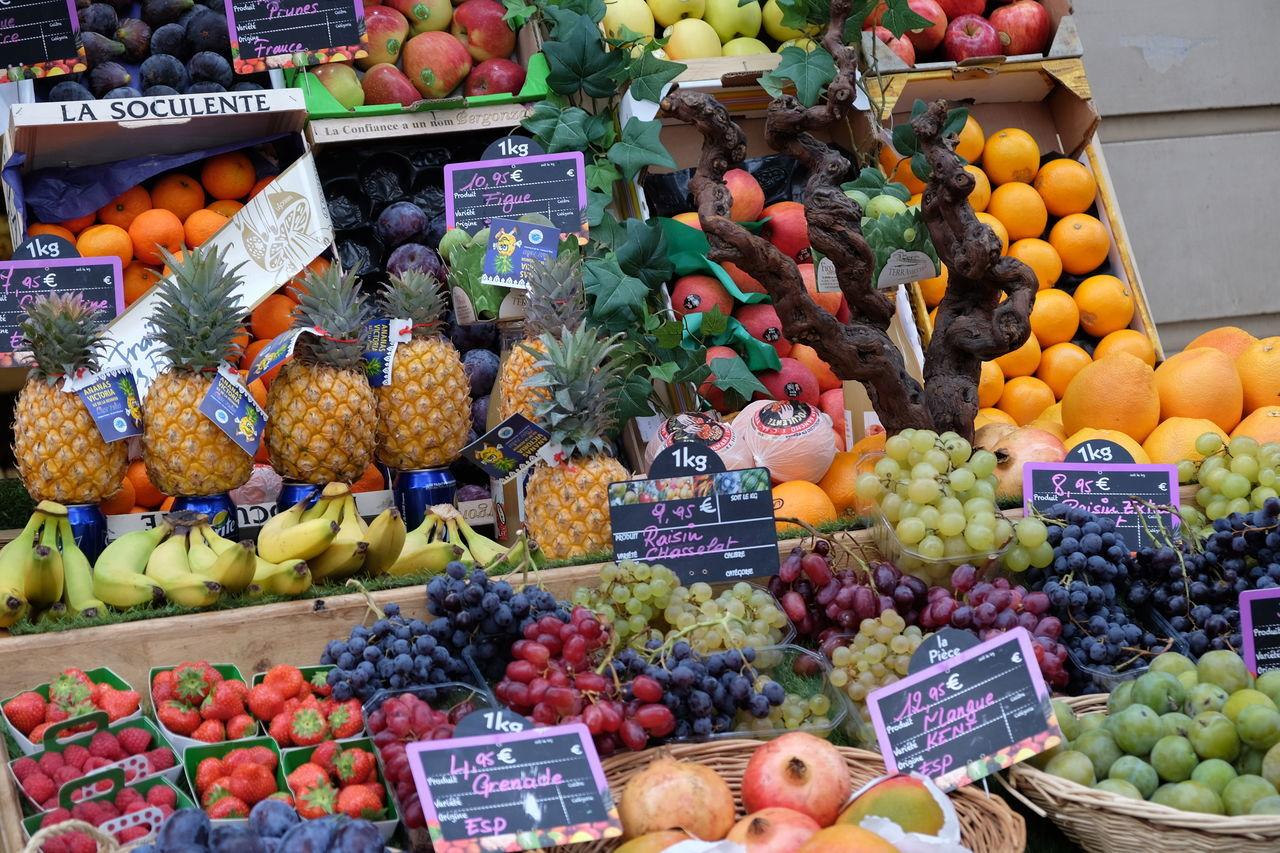 #color #fruit #market #Paris #rainbow First Eyeem Photo