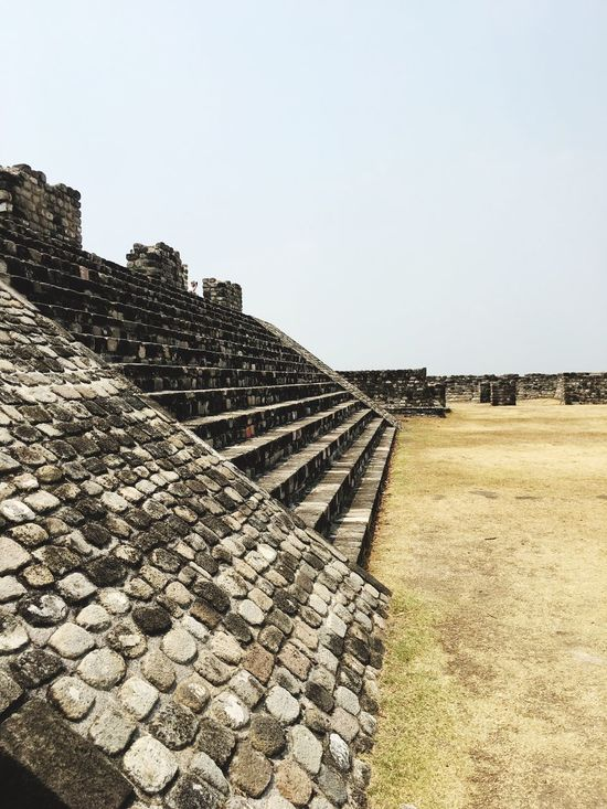 History Architecture Ancient The Past Clear Sky Old Ruin Built Structure Ancient Civilization Day No People Sky Outdoors Pyramid Xochicalco