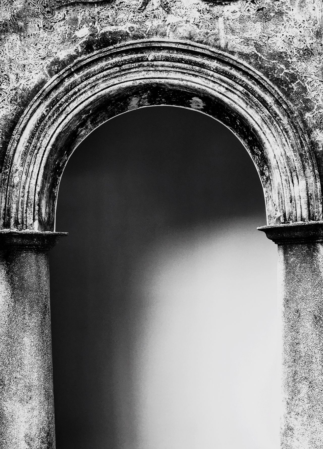 Architecture Arch Built Structure Building Exterior No People Day Arched Outdoors Blackandwhite Black And White Zhuhai China