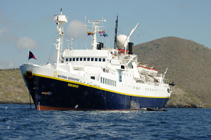 MS National Geographic Endeavour expedition ship Expedition Ship Galapagos MS National Geographic Research Ecuador Endeavour Nautical Vessel Transportation
