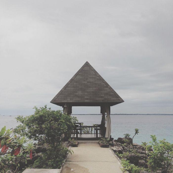 Shangrilamactan Beauty Sea Love Scenery