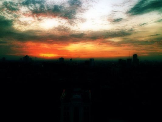 sunset by Beib