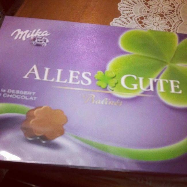 Ahaha ? Allesgute Milka Chocolate