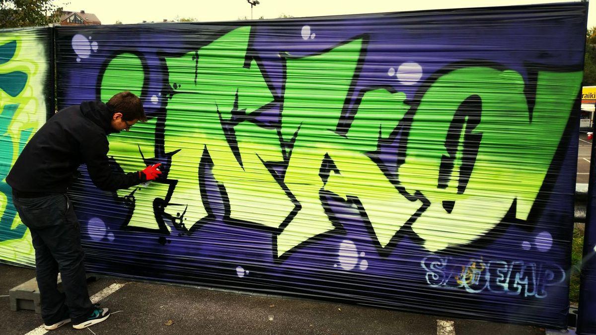 Fun Times Graffiti Skatepark Quality Time