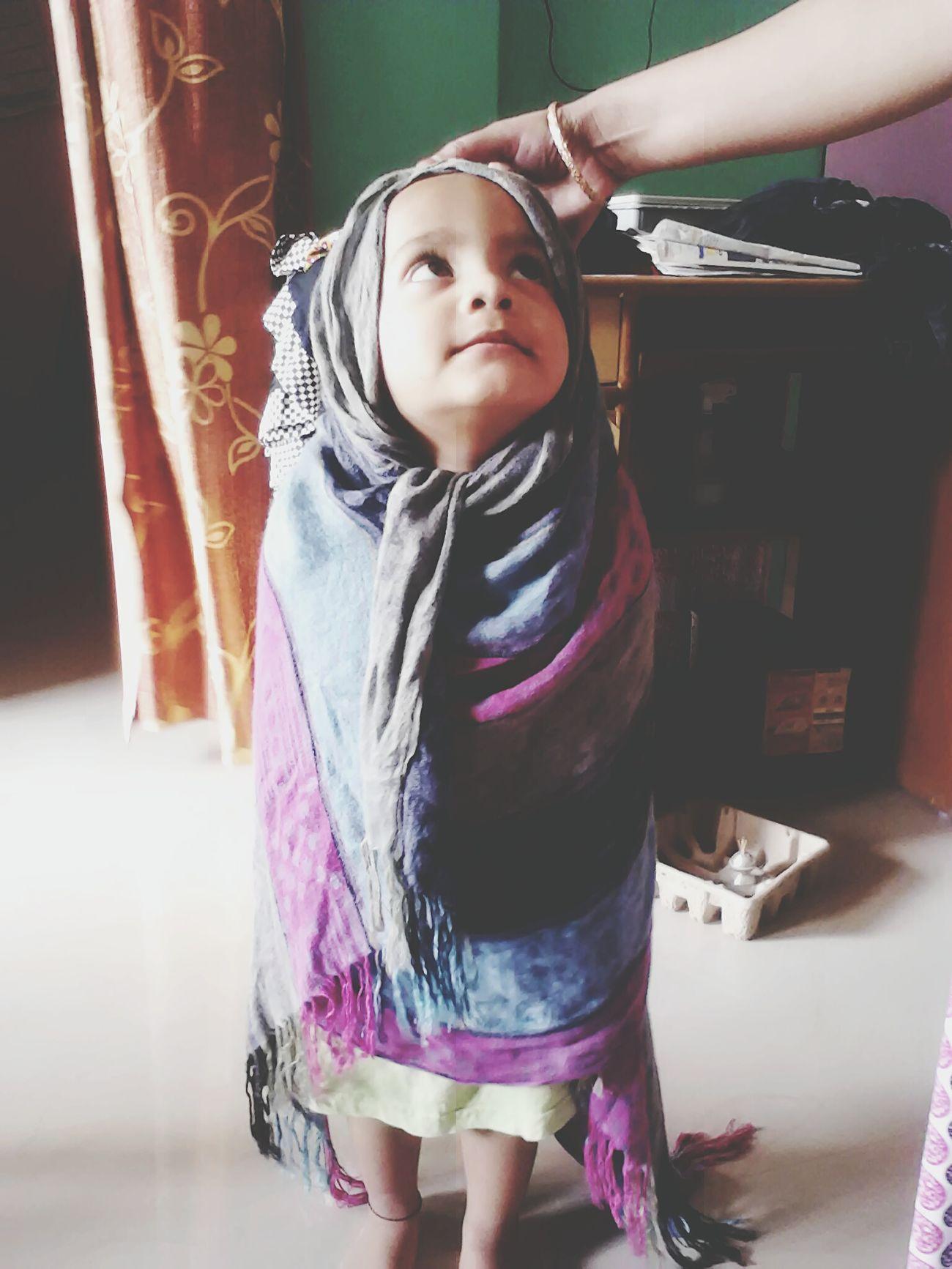 Playing Taking Photos Embraceyourgoofiness Having Fun :) Little Girl Playing Dress Up Cute♡ Bundle Of Joy Kidhavingfun Playtime