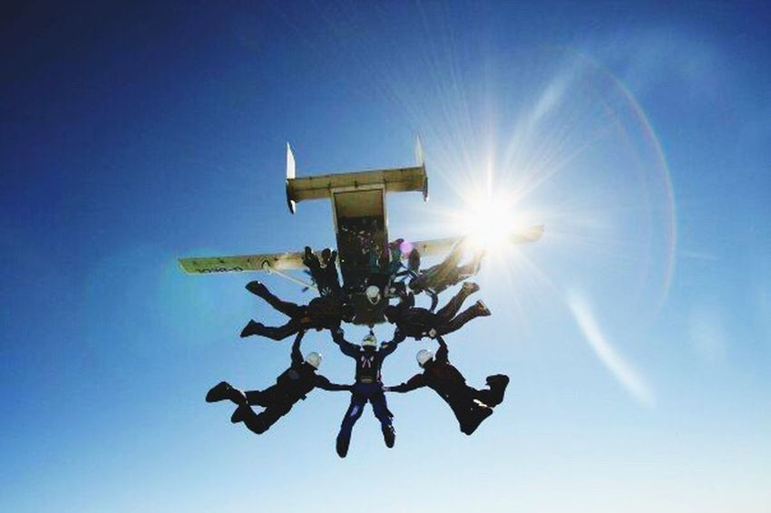 Clear Sky Sky Leisure Activity Skydiving Freedom Freefall Formation Skydiving Skyvan Skyandclouds  Extreme Sports Favourite Places My Favorite Place People And Places