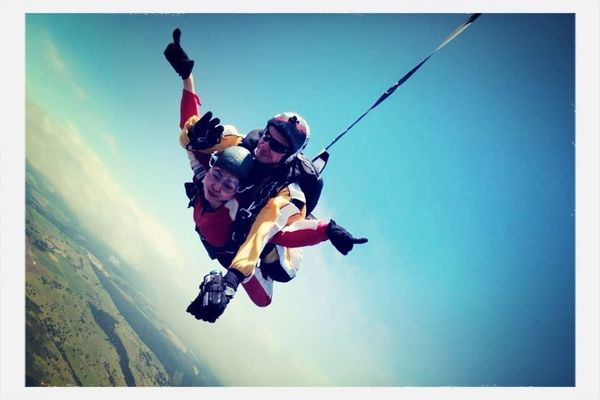 skydiving at New Zealand by RockChic