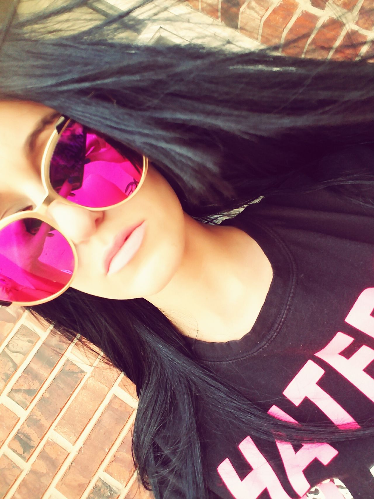Art Is Everywhere Sunglasses Selfienation LoveYourself Phtotography IWILLBEAMODELONEDAY Happiness Sharemyphoto Pink Color One Person Outdoors Love To Take Photos ❤ Kindness Inspiringwords Spring Photography Photography EyeEm Best Shots Eyemphotocontest EyeEm EyeEm Best Shots - People + Portrait EyeEmNewHere EyeEm Diversity Eyeemphotography Growth Eye4photography  2017