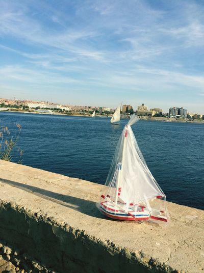 Egypt Egyptian Boat Boat Sailing Nile Aswan Water River Handcraft Nubian Nuba Small And Big Boats⛵️