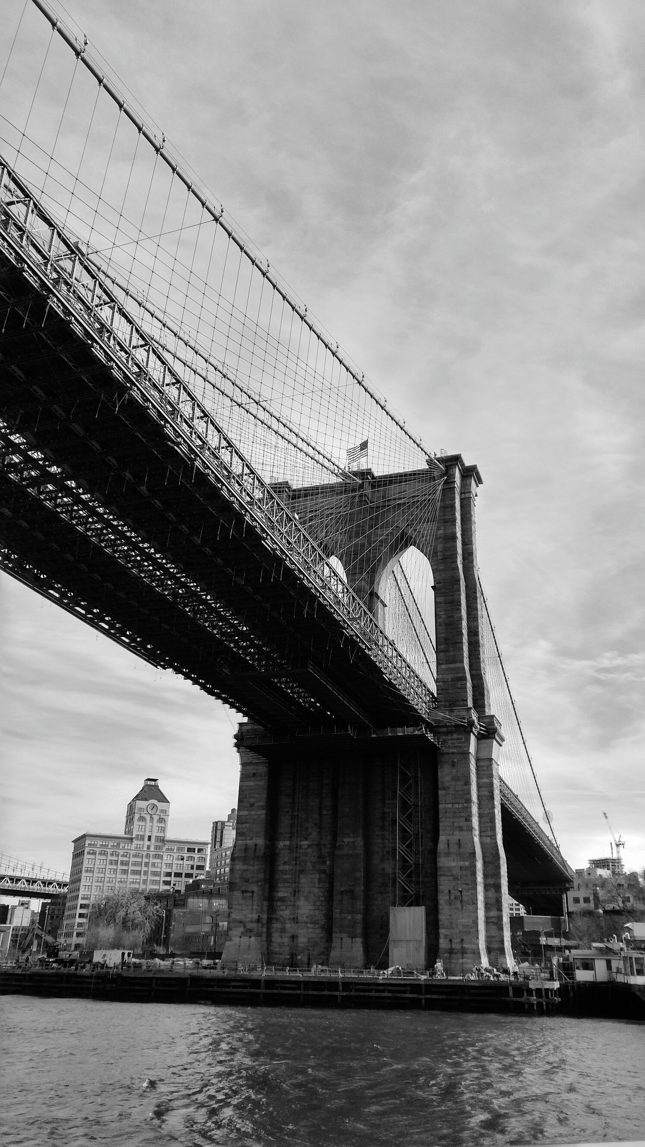 Bridge Water Travel River Bridge - Man Made Structure Architecture Travel Destinations Day Sky Boat Clouds Awesome_view New York City USA Photos