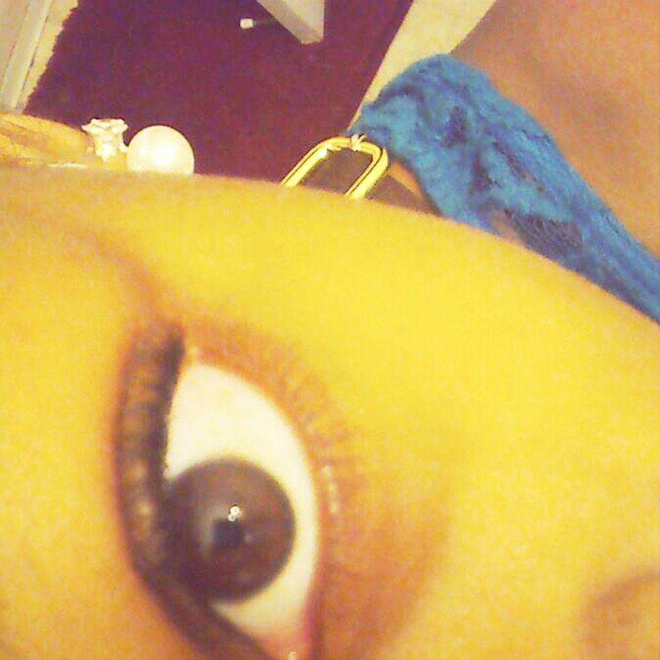 Myy Creepy Lukn Eye :)
