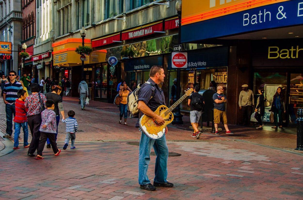 Streets of Boston is full of Music Music Boston Stree Photography EyeEm Gallery