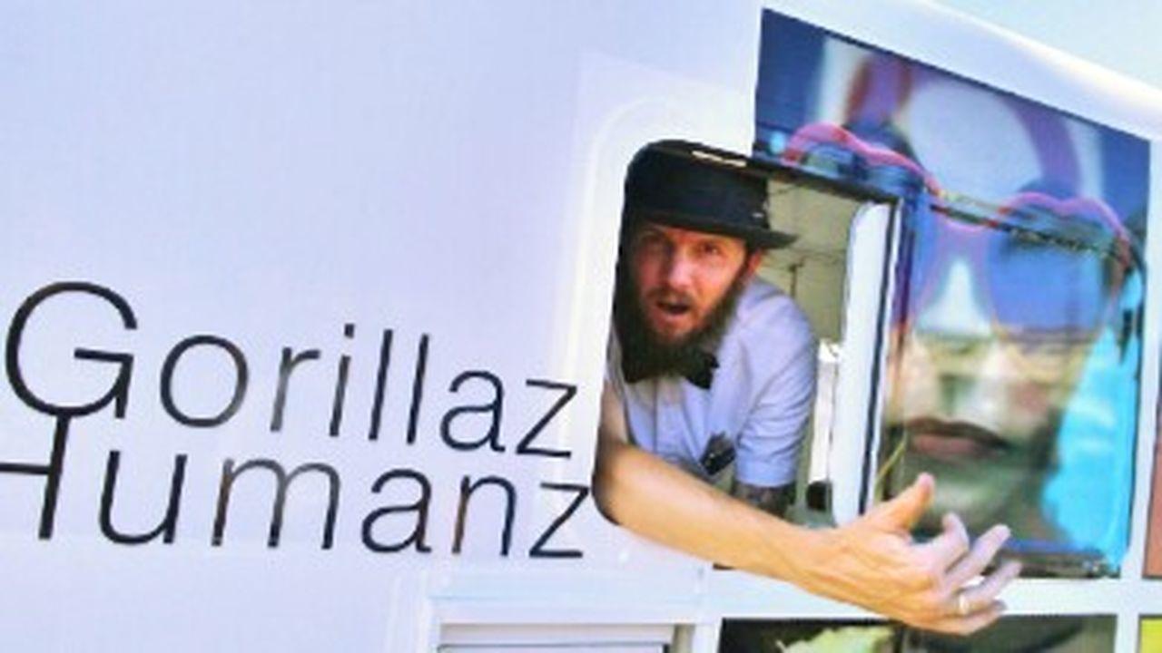 Icecreamtruck Icecream Truck! Ice Cream Truck New Album Promotion Promotional Promoting Gorillaz The Gorillaz