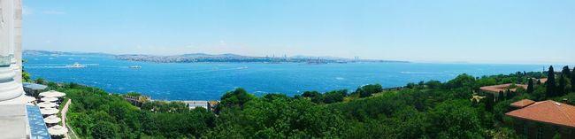 Istanbul sea panorama Istanbul Turkey Panorama Sea Travel Landscape Seascape Turkish Enjoy February Showcase: February Topkapi Topkapi Palace Topkapı Sarayı The Sea Of Marmara Marmara Sirkeci