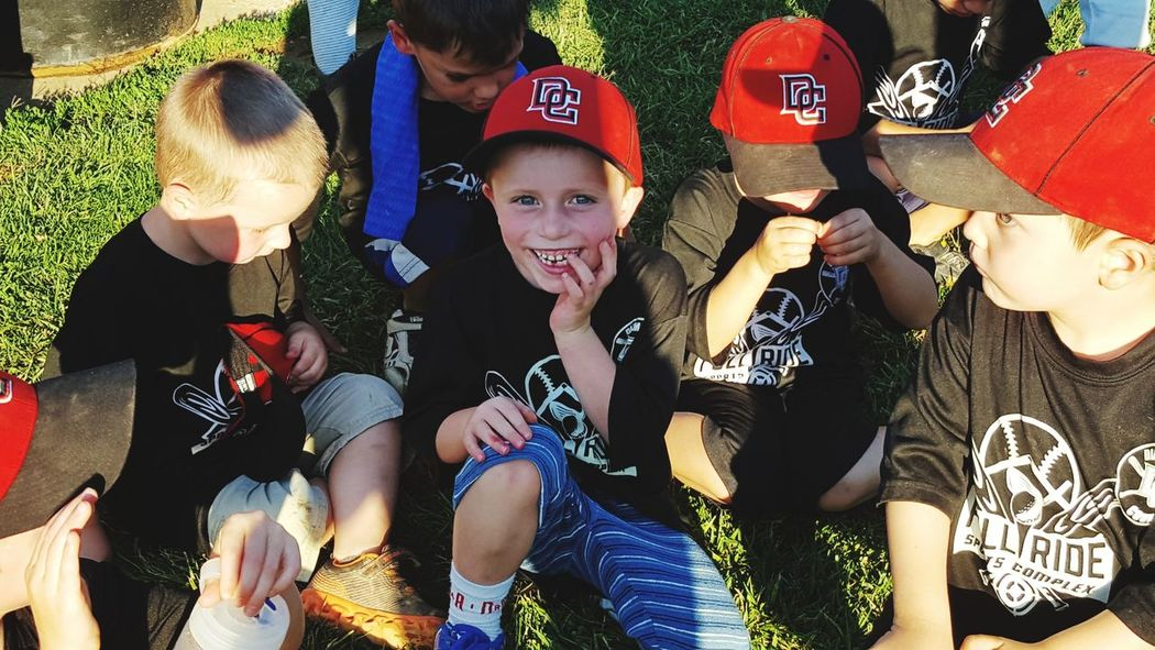 Kids Sports Party - Social Event People Outdoors Togetherness Friendship