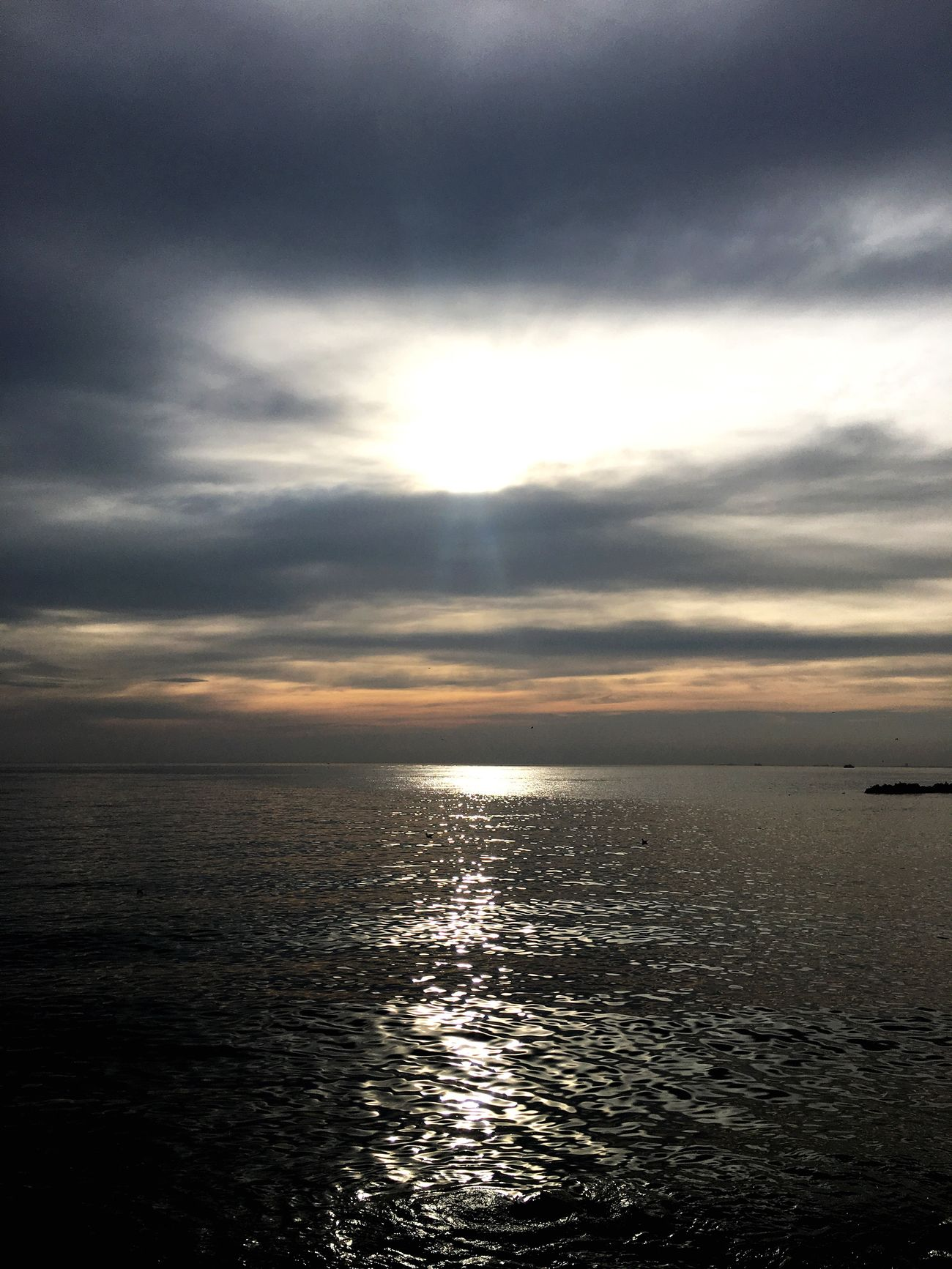 No People Day Outdoors Sky Beauty In Nature Sea Nature Lovely Weather Pure Istanbul Turkey Bostancı Sahil Sunset