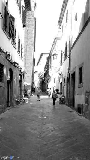 Arezzo Old Town Old City Italy🇮🇹 Arezzox Z3 Xperia Black & White