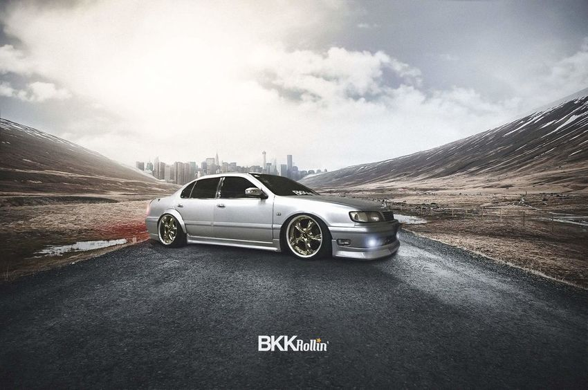 BKKRollin Photomanipulation Retouching Photoshop Automotive Photography Check This Out Travel 9togethers Cars Lowered Ninetogethers