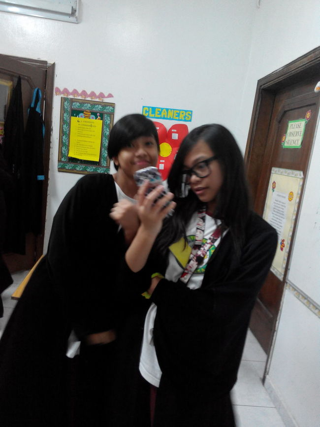 my two another classmates Nasren and Lara ChastityMoments