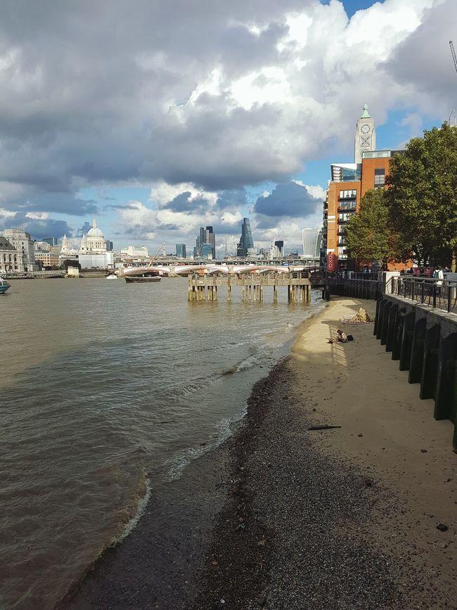 London's Buildings London City Cityscape Architecture Built Structure Beach Londonbeach Thames River Thames Thames River Side Thames Beach  Thames South Bank