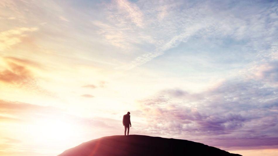 Beautiful stock photos of silhouette, Dramatic Sky, Hill, Nature, Non Urban Scene
