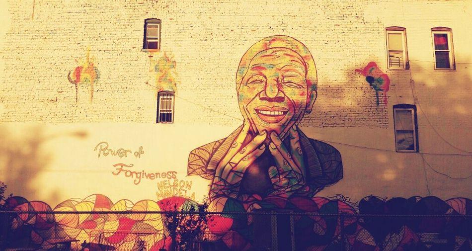Jersey City Street Art Jerseycitystreetart New Jersey Nelson Mandela Art Jersey City Streets Art