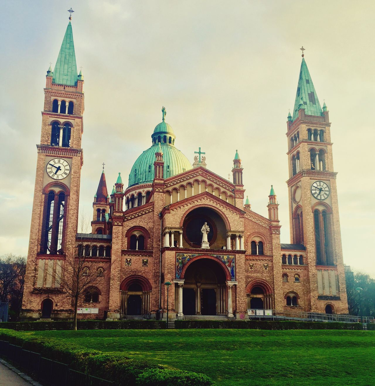 St. Anton von Padua Architecture Built Structure Religion Travel Destinations Outdoors Drone  Gopro Vienna Vienna_city Austria Pagoda First Eyeem Photo
