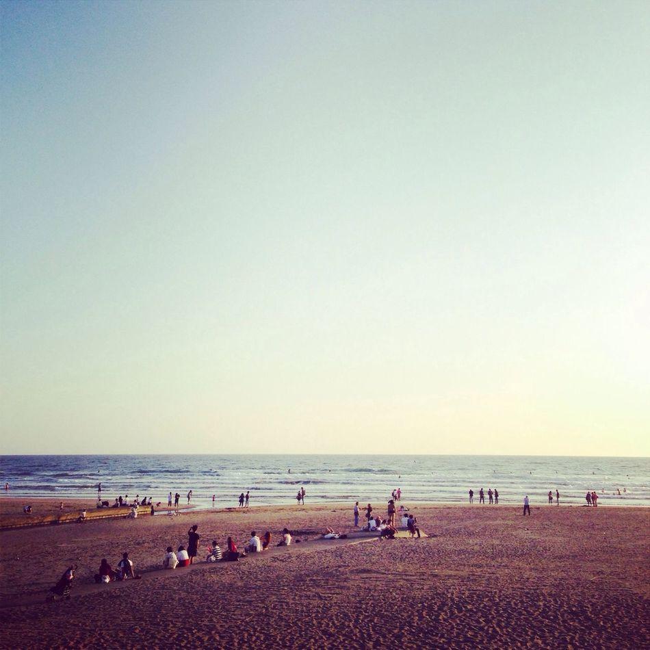 なんにもなくなっちゃた...where is our house??... 由比ヶ浜beach Cafe&dinner
