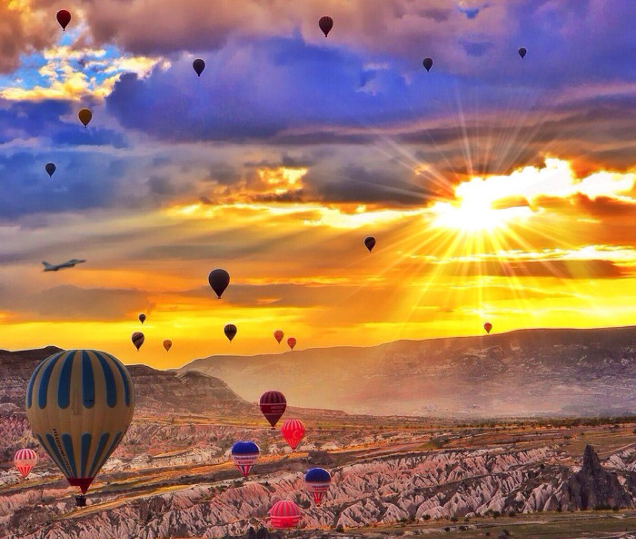 Cappadocia - Turkey (Photo by my IG bro @kyrenian edited by me)
