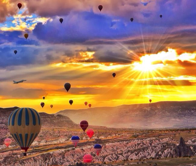 Cappadocia - Turkey (Photo by my IG bro @kyrenian edited by me)