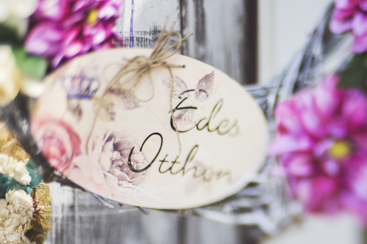 text, celebration, close-up, no people, love, communication, pink color, gift, indoors, day