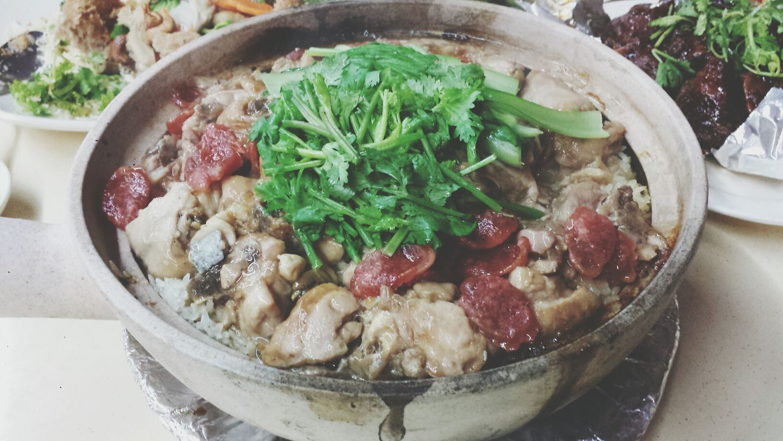 Claypot rice Singaporefood TheBreadeatseverywhere TheBreadeats Claypotrice