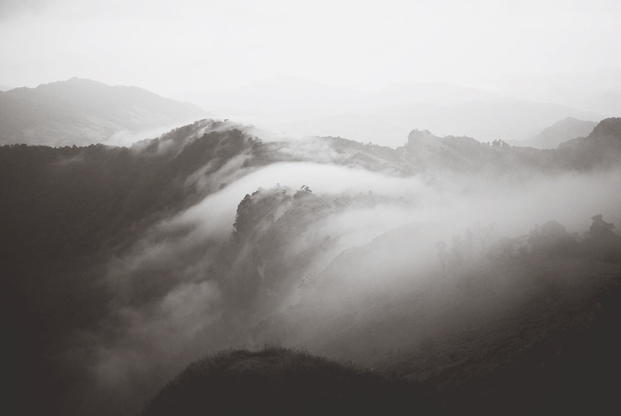 Flow Mountains Eye Em Nature Lover Traveling Black And White