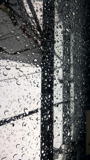 Cielo Lluvia Rain Glass Gotas De Lluvia