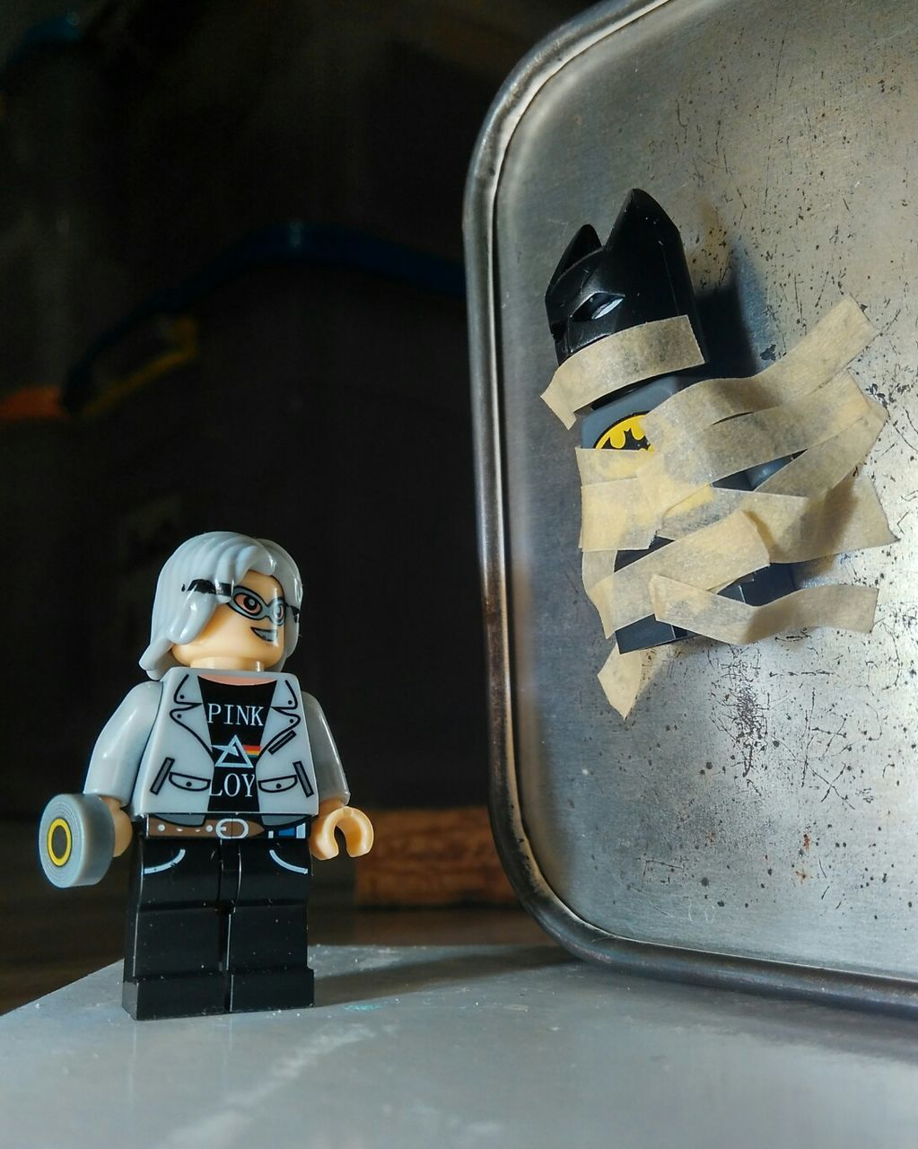 human representation, male likeness, indoors, no people, domestic kitchen, childhood, sculpture, close-up, day