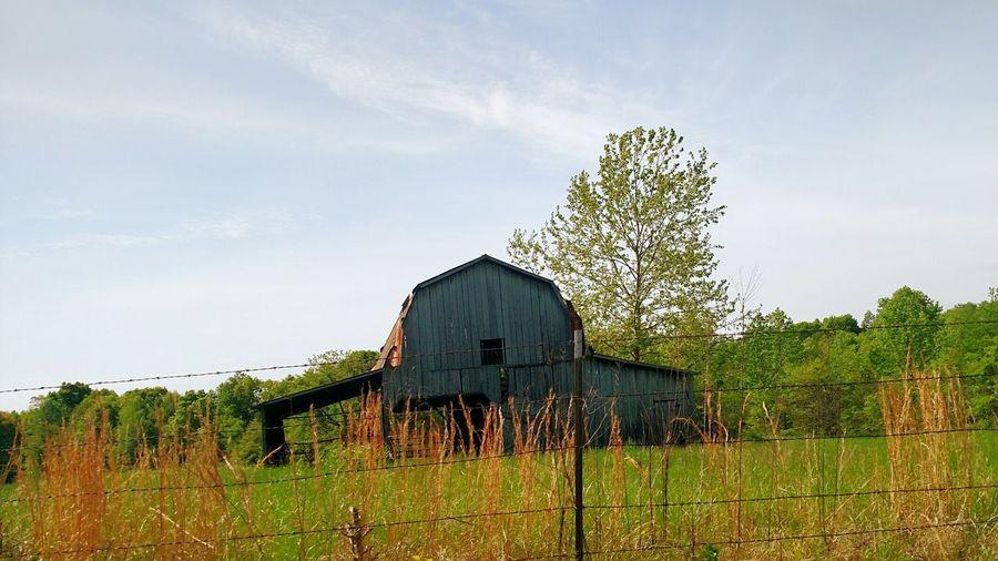 Backroaddriving Barns I Love Sunny Days