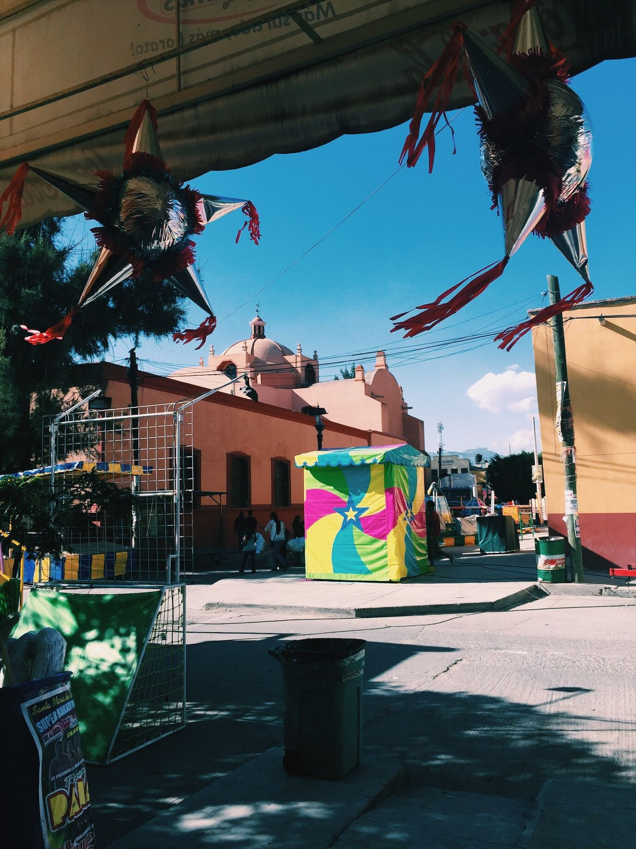 Aesthetics Piñata Mexico Pretty Building Exterior Multi Colored Outdoors EyeEmNewHere