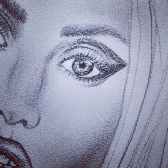 Littlemonsters DONATELLA Ladygaga Versace drawing by me