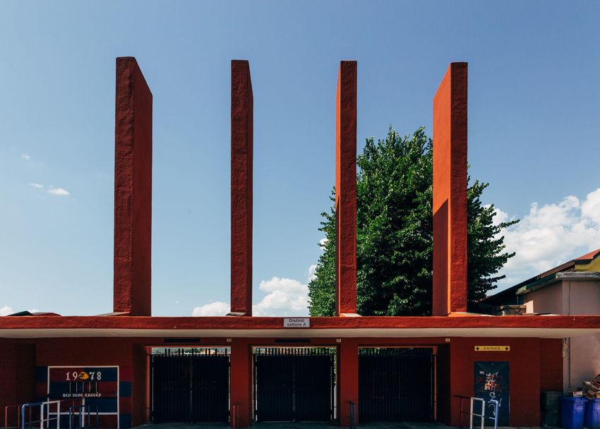 Stadium Stadium Football Stadio Calcio L'Aquila Earthquake