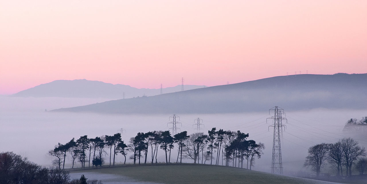 Beautiful stock photos of sunrise, Beauty In Nature, Cardross, Copy Space, Electricity