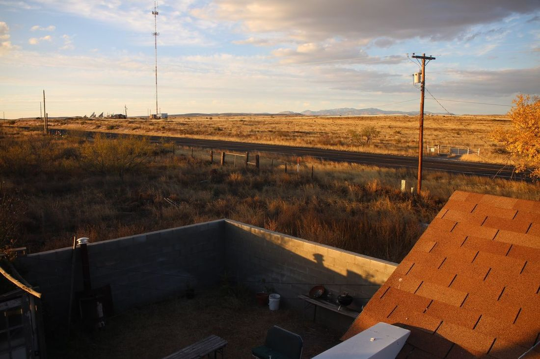 EyeEm Selects Sky Landscape Electricity  No People Outdoors Day Nature Marfa Texas Marfa Texas Desert Mountains