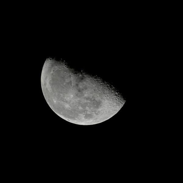 Goodnight Moon Astrophotography