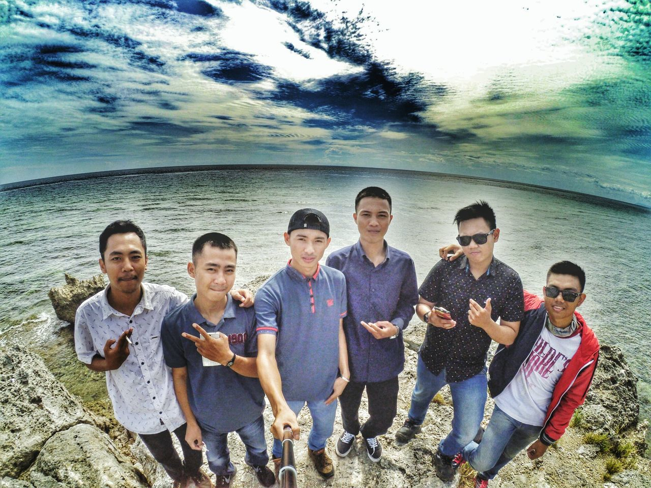 Young Men Young Adult Teenager Casual Clothing Looking At Camera Vacations Togetherness Outdoors Medium Group Of People Portrait Young Women People Friendship Leisure Activity Day Adult Men Playing Musical Instrument Beach Likeforfollows Likesforlikes Torajanese Latepost TanaToraja